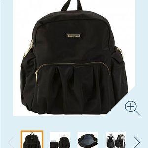 Kalencom Black Chicago Diaper Bag